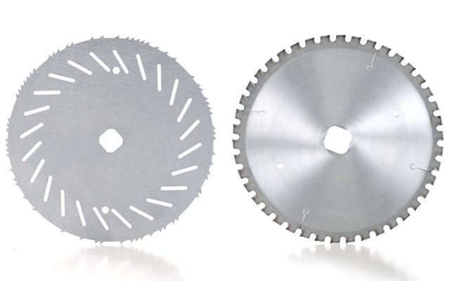 Circular bone saw blades