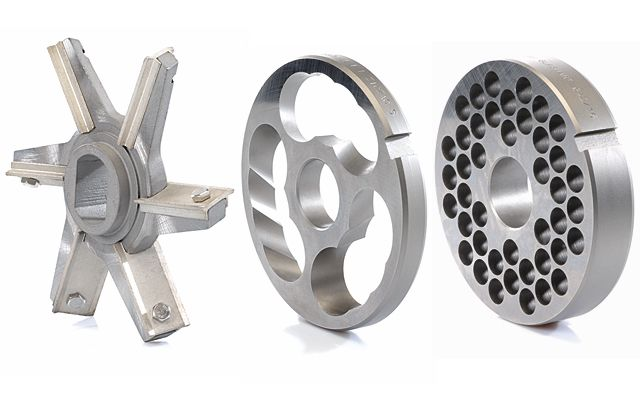 Unger System with bush in stainless version INOX, inserts for insert-knives available
